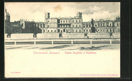 CPA Gatchina, Palais Imperial Gatchina - Russland