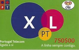 OLÁ XL PT 750 Prepaid Phonecard - Portugal - Portugal