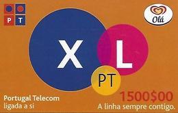 OLÁ XL PT 1500 Prepaid Phonecard - Portugal - Portugal