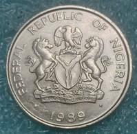 Nigeria 10 Kobo, 1989 - Nigeria