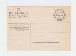 Suisse. Militärpostkarte. Camp Militaire D'internement Balterswil. (560) - Cartas