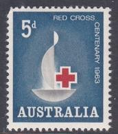 Australia ASC 381  1963 Centenary Of Red Cross, Mint Never Hinged - 1952-65 Elizabeth II : Pre-Decimals