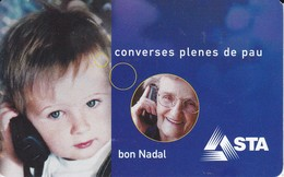 AND-132 TARJETA DE ANDORRA NADAL 2002 (CHRISTMAS-NAVIDAD) - Andorre