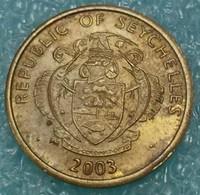 Seychelles 5 Cents, 2003 -4041 - Seychelles