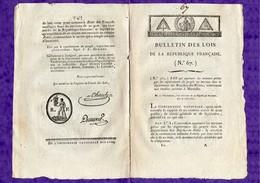 D-FR Révolution 1794 Troubles à Marseille -Tribunal Sur La Conspiration De ROBESPIERRE - Documents Historiques