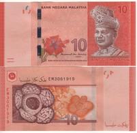 MALAYSIA   New  10  Ringgit  (ND 2018)  New Signature - Malaysia