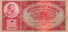 CECOSLOVACCHIA 50 KORUN 1929 P-22 - Tchécoslovaquie