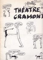 Rare Programme Théâtre Gramont (Paris), 1969, Je Ne Pense Qu'à ça De Georges Wolinski Et Claude Confortes - Théatre & Déguisements