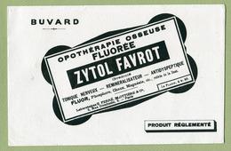 """"""" ZYTOL FAVROT """"  Buvard Pharmaceutique - Blotters"""