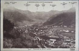 Panorama Du Mont-Dore - L'Auvergne Pittoresque . - Tours