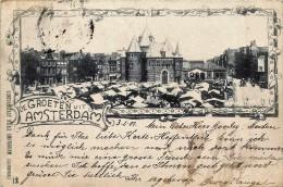 Pays-Bas - Amsterdam - De Groeten Uit Amsterdam N° 12 - 1901 - Amsterdam
