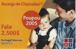 Charging Of Calls PT 2500 (Prepaid Phonecard) - Portugal - Portugal