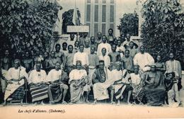 LES CHEFS D'ABOMEY - DAHOMEY - Dahomey