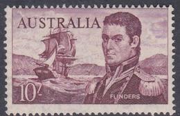 Australia ASC 389 1964 Navigators, 10 Sh Flinders Cream Paper, Mint Never Hinged - 1952-65 Elizabeth II : Pre-Decimals