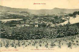 Cpa SENONES 88 Vue Générale De La Ville En Hiver - Senones