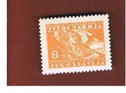 JUGOSLAVIA (YUGOSLAVIA)   - SG 513  -  1945 PARTISAN: GIRL WITH FLAG  -    MINT** - 1945-1992 Repubblica Socialista Federale Di Jugoslavia