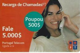 Charging Of Calls PT 5000 (Prepaid Phonecard) - Portugal - Portugal