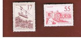 JUGOSLAVIA (YUGOSLAVIA)   - SG 898.906  -  1958  2 STAMPS OF TH CURRENT SERIE -    MINT** - 1945-1992 Repubblica Socialista Federale Di Jugoslavia