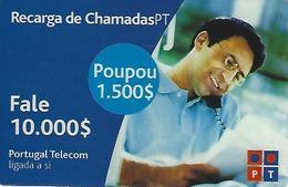 Charging Of Calls PT 10000 (Prepaid Phonecard) - Portugal - Portugal