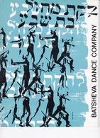 Danse: Programme Festival International De La Dance à Paris, 1964, Batsheva Dance Company - Théatre & Déguisements