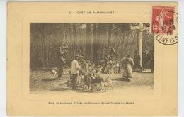 CHASSE A COURRE - FORET DE RAMBOUILLET - Madame La Duchesse D' UZÈS Donne L'ordre Du Départ - Caza