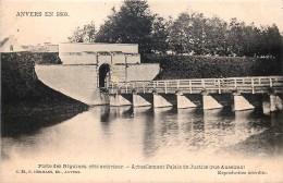 Anvers En 1860 - Porte Des Béguines Côté Extérieur - Antwerpen