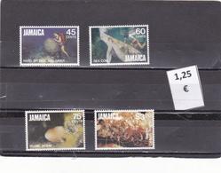 Jamaica  -  Lote  4  Sellos Diferentes  -  7/7289 - Jamaica (1962-...)