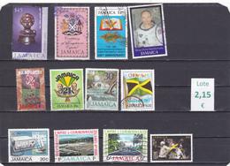 Jamaica  -  Lote  12  Sellos Diferentes  -  7/7297 - Jamaica (1962-...)