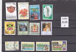 Jamaica  -  Lote  12  Sellos Diferentes  -  7/7298 - Jamaica (1962-...)