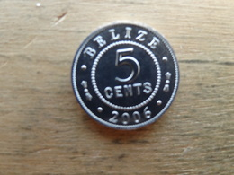 Belize  5  Cents  2006  Km 34 - Belize