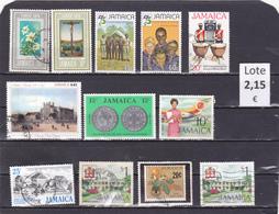 Jamaica  -  Lote  12  Sellos Diferentes  -  7/7300 - Jamaica (1962-...)
