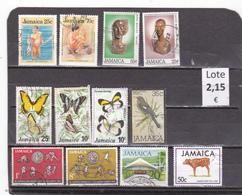 Jamaica  -  Lote  12  Sellos Diferentes  -  7/7302 - Jamaica (1962-...)
