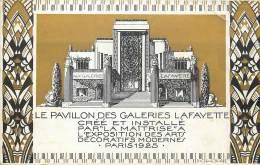 France - 75 - Paris - Expo 1925 - Art Déco - Le Pavillon Des Galeries Lafayette - Petit Pli De Coin - Exhibitions