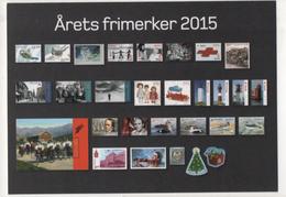 Fre388 Norge Norvegia Stamps Francobolli 2015 Uccelli Folklore Natale Faro Giochi Croce Rossa Musica - Francobolli (rappresentazioni)