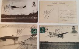 LOUIS BLERIOT (1872 - 1936) AUTOGRAPHE ORIGINAL AUTOGRAPH AVIATION AVIATEUR /FREE SHIPPING REGISTERED - Airmen, Fliers