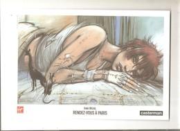 Ex-libris Dessiné Par Enki Bilal Rendez-vous à Paris - Illustratori A - C