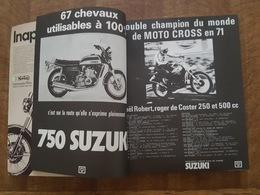 Moto Revue Spécial Salon 72 - Toutes Les Motos Du Monde, 200 Pages Avec De Superbe Pubs, Honda, Yamaha, Triumph, Harley - Moto