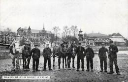 Namur - Les Hâleurs Devant L' Ancien Casino - Namen
