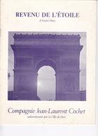 Rare Programme Théâtre Hébertot (Paris), 1984, Revenu De L'Etoile, D'André Obey - Théatre & Déguisements