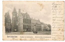 Zoutleeuw - Stadhuis En Gendarmerie - 1900 - Zoutleeuw