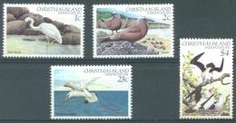 CHRISTMAS - MNH/**  - 1982 - BIRDS -  Yv 156-159 - Lot 17361 - 159 MLH/* - Christmas Island