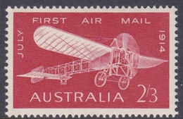 Australia ASC 405 1964 50th Anniversary First Airmail Service, 2sh And 3d Red, Mint Never Hinged - 1952-65 Elizabeth II : Pre-Decimals