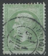 Lot N°43620  Variété/n°35, Oblit Cachet à Date De Périgueux, Dordogne (23), Filet SUD Absent Et EST Pratiquement - 1862 Napoleon III
