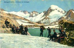 Cpa SUISSE - Grenzbesetzung 1914 Occupation Des Frontières - Gebirgs Infanterie - Infanterie De Montagne - Guerre 1914-18