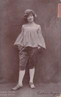 IRENE BORDONI - 1889/1953 - ACTRICE FRANÇAISE DE CINEMA - CPA. - Acteurs