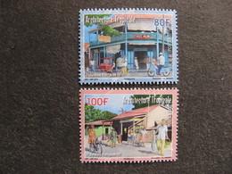 Polynésie: TB Paire N° 1090 Et N° 1091, Neufs XX. - French Polynesia
