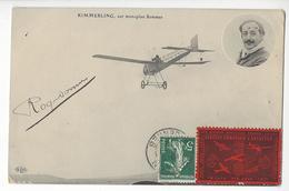 ROGER SOMMER (1877 - 1965) AUTOGRAPHE ORIGINAL AUTOGRAPH AVIATION AVIATEUR ELD + VIGNETTE /FREE SHIPPING REGISTERED - Airmen, Fliers