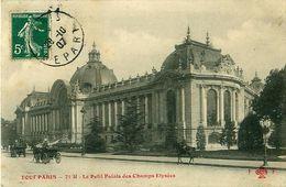 Cpa TOUT PARIS - Le Petit Palais Des Champs Elysées - Arrondissement: 08