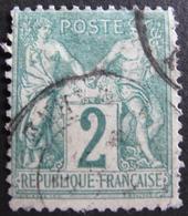 Lot 1753 - SAGE TYPE I N°62 - CàD - Petits Défauts - Cote : 340,00 € - 1876-1878 Sage (Type I)