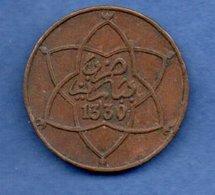 Maroc   - 5 Mazunas 1330 Pa    --  Km #  28.1  -    état TTB - Maroc